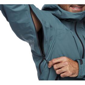 Black Diamond Highline Stretch Shell Jacket Men, Azul petróleo